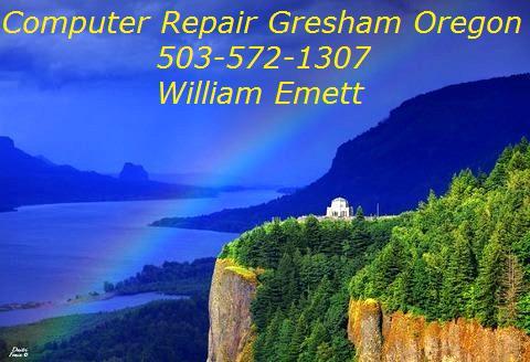 Computer Repair Gresham Oregon 503-572-1307